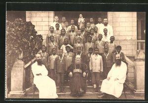 AK Missions des Frères des Ecoles Chrétiennes au Congo, Missionare