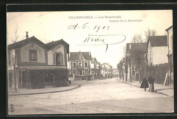 AK Villemomble, Avenue de la République