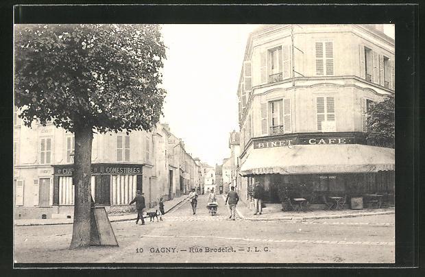 AK Gagny, Binet Cafe, Rue Brodelet