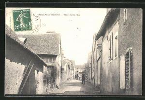 AK Villiers-St-Benoit, Une vieille Rue, Alte Strasse