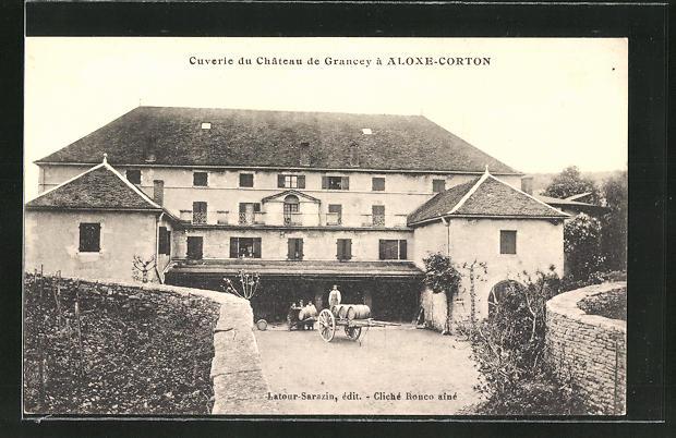 AK Aloxe-Corton, Cuverie du Chateau de Grancey