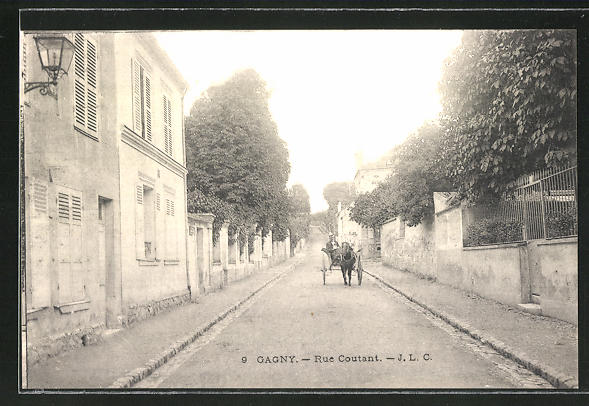AK Gagny, Rue Coutant