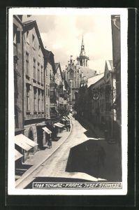 AK Schwaz, Blick in die Franz-Josef-Strasse