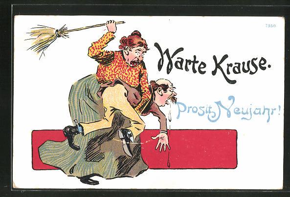 AK Warte Krause, frauenfeindlicher Humor