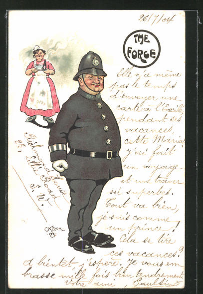 AK The Forge, Polizist in Uniform