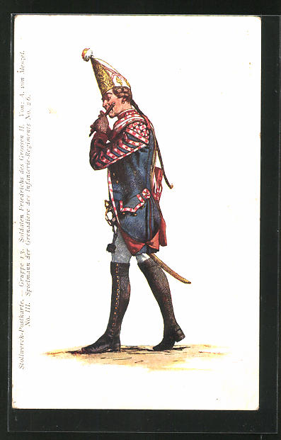 AK Stollwerck, Soldat Friedrich des Grossen II.
