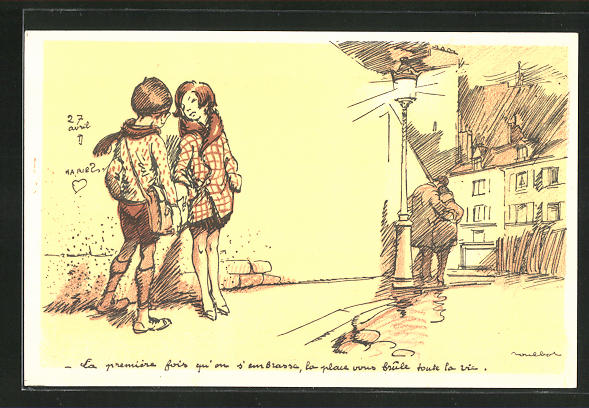 Künstler-AK Francisque Poulbot: