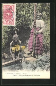AK Dakar, Sénégalaises dans la Brousse