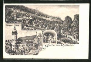 AK Schw. Gmünd, St. Salvator-Kirche
