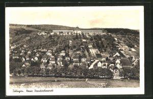 AK Tübingen, Blick auf das neue Standortlazarett