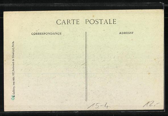 AK Anselme Marchal, Né le 23 Decembre 1882, á Moutiers, Flugzeug 1