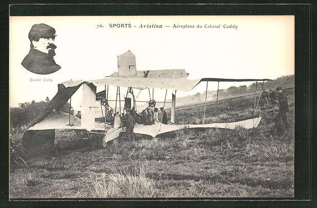 AK Sports-Aviation, Aeroplane du Colonel Coddy, Flugzeug 0