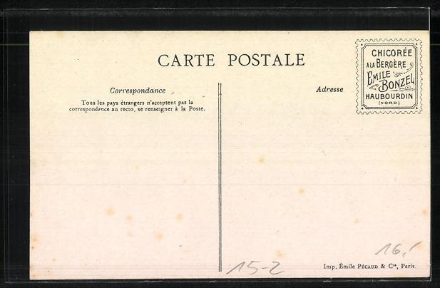 AK Les Sports, Dirigeable Santos Dumont Nr. 16. Zeppelin 1