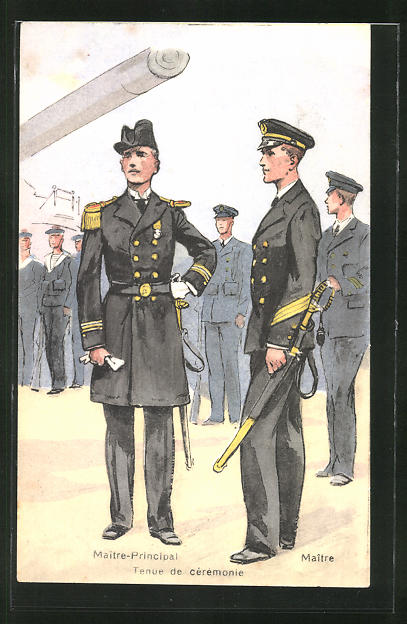 AK Französisches Kriegsschiff, Maitre-Principal, Maitre 0