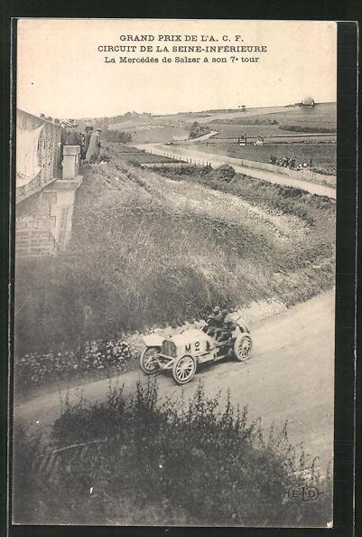 AK Autorennen