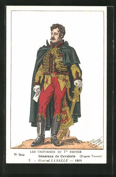 Künstler-AK Généraux de Cavalerie, Général Lasalle 0