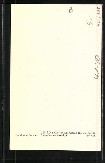 Künstler-AK Besatzung eines französischen Kriegsschiffes, Capitaine de Vaisseau, Vice-Amiral 1