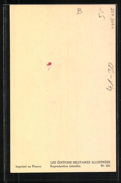 Künstler-AK Besatzungen französischer Kriegsschiffe, Compagnie de débarquement 1939 1