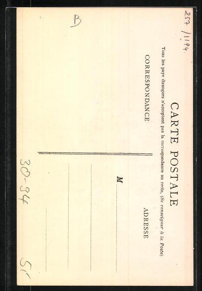 Künstler-AK Zouaves, Clairon, tenue d'expédition, Infanterie 1