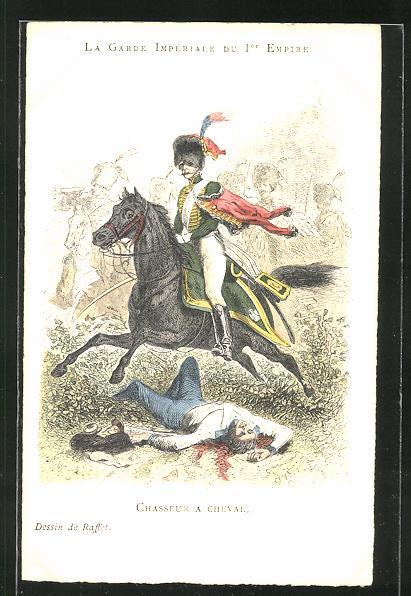 AK La Garde Impériale du 1er Empire, Chasseur a Cheval