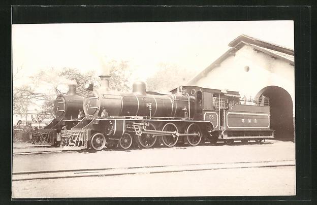 AK Englische Eisenbahn-Lokomotiven 0