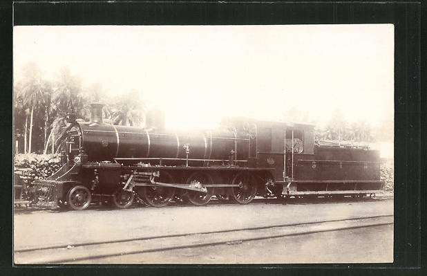 AK Ansicht einer englischen Eisenbahn-Lokomotive 0