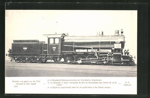 AK Lokomotive der Orientalischen Eisenbahnen