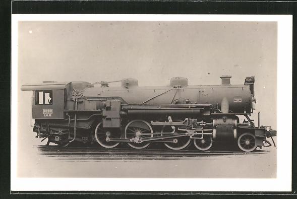 AK Lokomotive Nr. 8200 der Firma L. G. R. 0