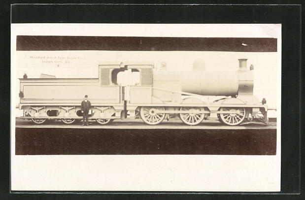 AK Lokomotive, standar 0-6-0 Type goods Loco, IndianGovt. Rly. 0