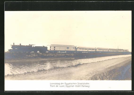 AK Eisenbahn, Luxuszug der Egyptischen Staatsbahn 0