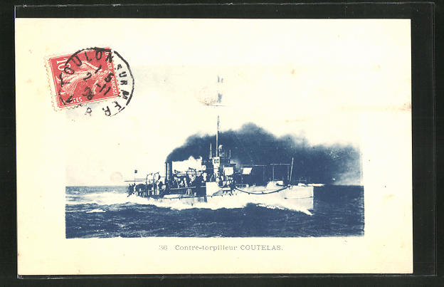 AK Contre-torpilleur Coutelas, Kriegsschiff 0