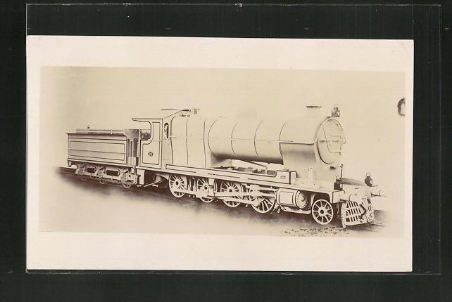 AK englische Eisenbahn auf Schienen 0