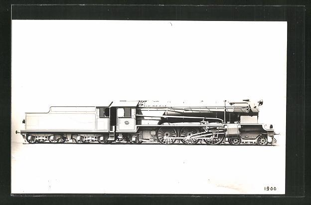 AK englische Eisenbahn in kompletter Länge 0