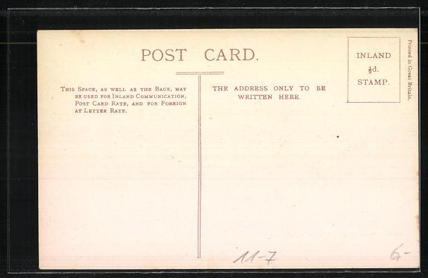 AK englische Eisenbahn, Royal Train, G. S. & W. R. Ireland 1
