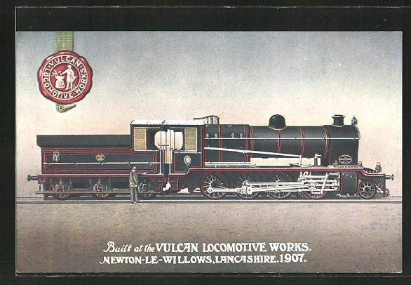 AK Vulcan Locomotive Works, 1907 0