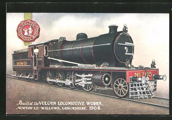 AK Vulcan Locomotive Works 1908