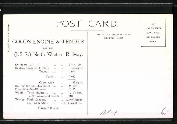 AK Vulcan Locomotive Works 1908 1