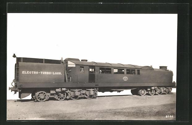 AK Electro-Turbo-Loco, englische Eisenbahn 0