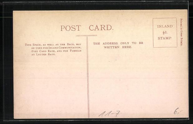 AK G. N. R. Ireland, Single Express No. 13, englische Eisenbahn 1