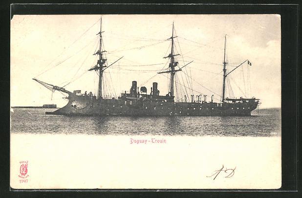 AK Kriegsschiff, Duguay-Trouin auf See 0