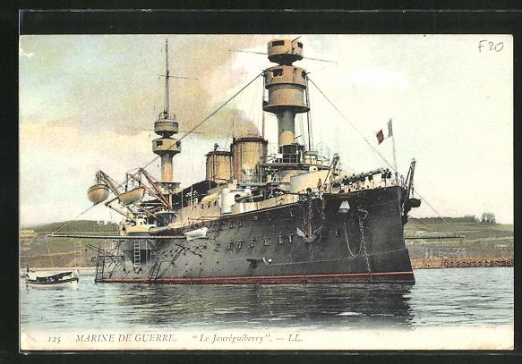 AK Marien de Guerre, Kriegsschiff