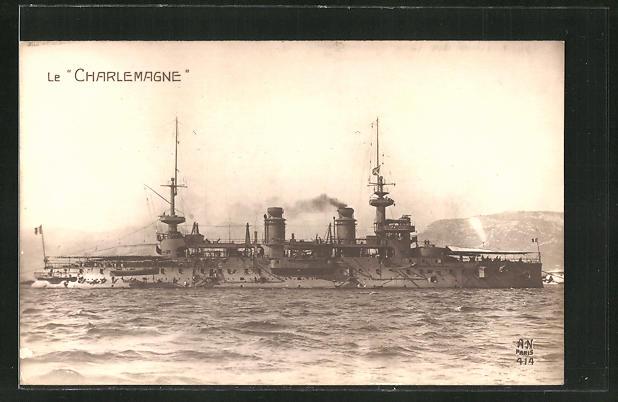 AK Kriegsschiff Le