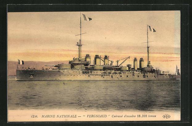 AK Marine Nationale, Kriegsschiff