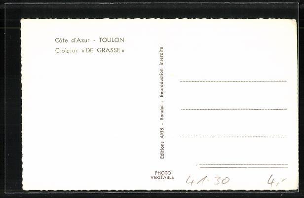 AK Toulon, Kriegsschiff Croiseur