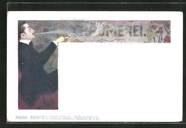 Künstler-AK A. Pock, Philipp + Kramer Nr. XII /10: