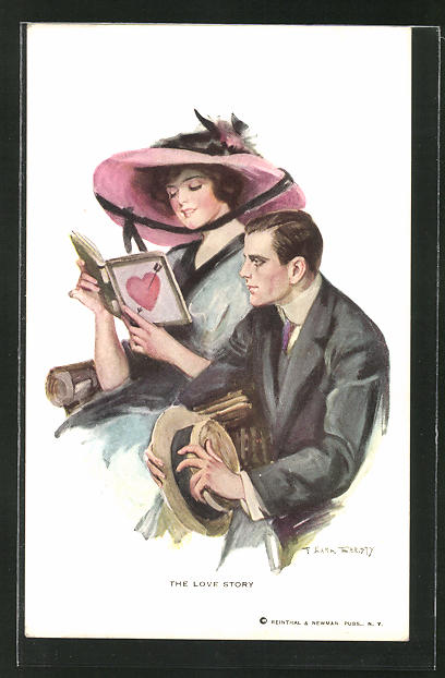 Künstler-AK F. Earl Christy: The Love Story