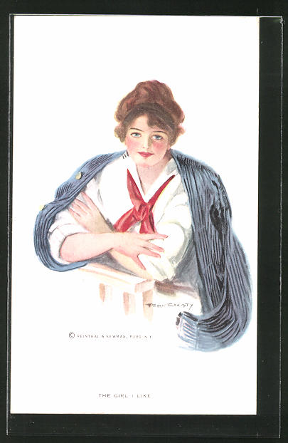 Künstler-AK F. Earl Christy: The Girl i Like