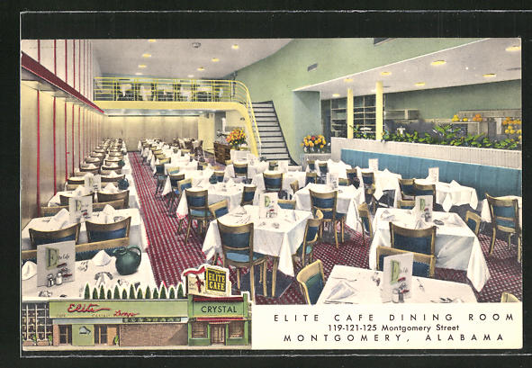 AK Montgomery, AL, Elite Cafe, 119-121-125 Montgomery Street