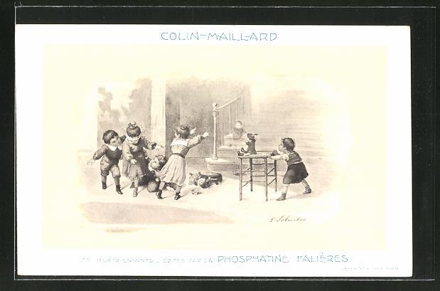 AK Colin-Maillard, Les Jeux D'Enfants, Edités par la Phosphatine Falliéres, Medikament