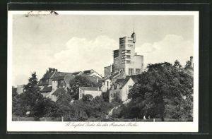 AK St. Ingbert, Blick zur Brauerei Becker